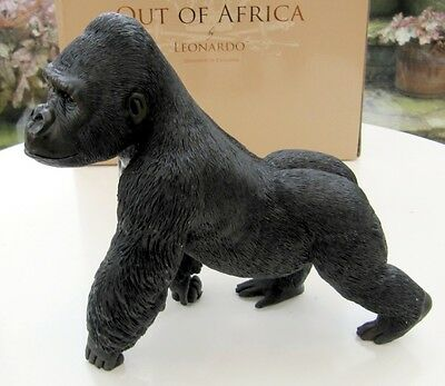 Leonardo Resin Animal Figures -  GORILLA Walking