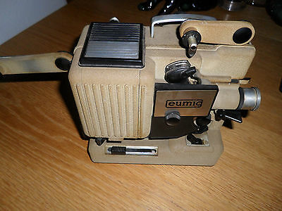 FAB Vintage Eumig P8 Phonomatic Novo cine projector+ sound  synch mechanism
