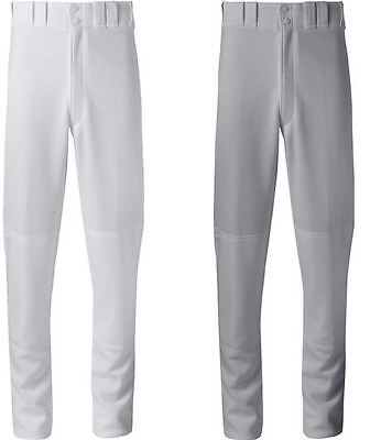 Mizuno Youth Select Pro Baseball Pants WHITE and GRAY - ALL Youth Sizes 350389