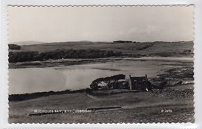 BRIGHOUSE BAY: Kirkcudbrightshire postcard (C12723)