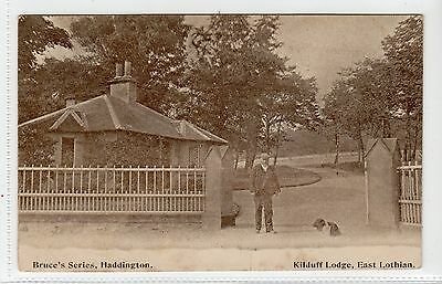 KILDUFF LODGE: East Lothian postcard (C12963)