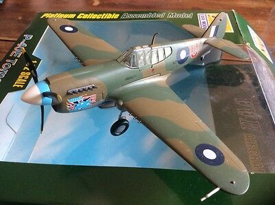 Platinum Collectible WWII  P-40E Tomahawk Plane Toy Model 1:72 Scale 2005