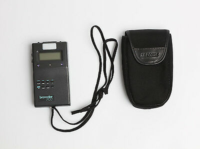 Broncolor FCC color meter flash duration meter