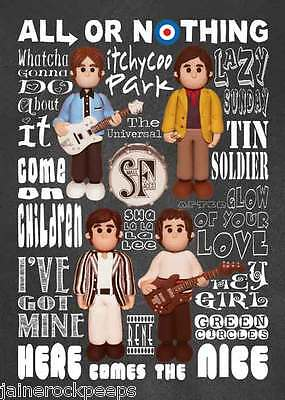Inspired by Small Faces Steve Marriot All Or Nothing Greeting Birthday Card