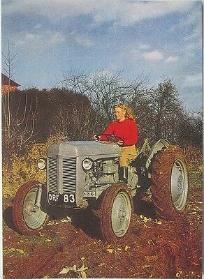 Pack of 15 New Vintage Ad Gallery Postcards: No 20 Ferguson TE20 1952