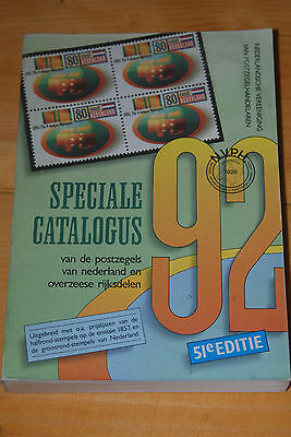 Weeda NVPH 1992 Specialized Netherlands Catalogue, full colour, useful reference