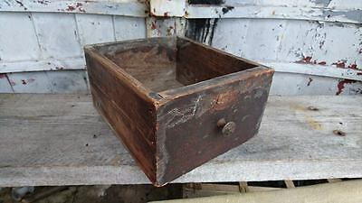 Vintage antique wooden drawer rack tray display shelf storage prop old rare chic