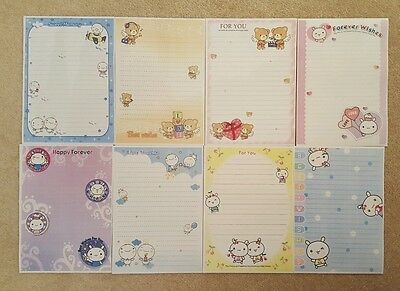 """40 Sheets of A5 """"Cute 1"""" Lined Writing Paper penpals"""