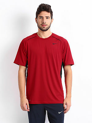 Nike Legacy SS men's training top - red adult large ONE ONLY