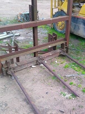 Hay forks 3pl heavy duty
