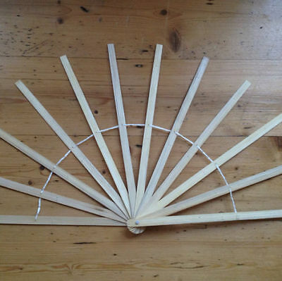 feather fans fan staves bamboo DIY handles burlesque showgirl