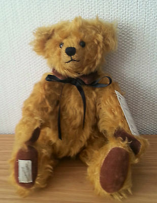 """DEANS """"ROBERT"""" - 12"""" L/Edition FULLY JOINTED PLUSH BEAR"""