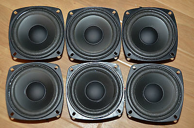 "Small 4"" long throw bass unit woofer- ideal replacement for centre/surround spkr"