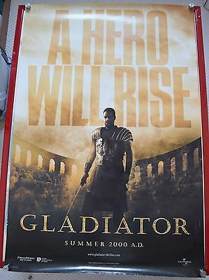Gladiator, Original DS Advance Movie Poster, Russell Crowe is Marcus Maximus, 00