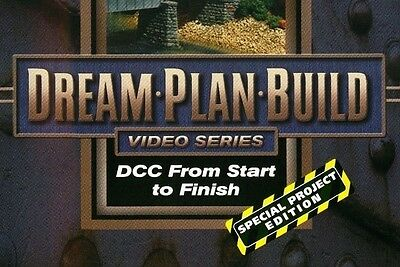DCC From Start to Finish DVD 73108D Dream Plan Build Special Project Edition sc