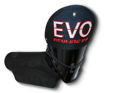 RedLine K9 EVO Dog Protection training Firm LEFT ARM sleeve w/cover w/handle