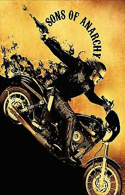 SONS OF ANARCHY GOLD 11X17 Movie Poster collectible