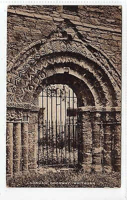 NORMAN DOORWAY, WHITHORN: Wigtownshire postcard (C13426)