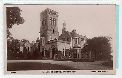 MONKRIGG HOUSE, HADDINGTON: East Lothian postcard (C13139)