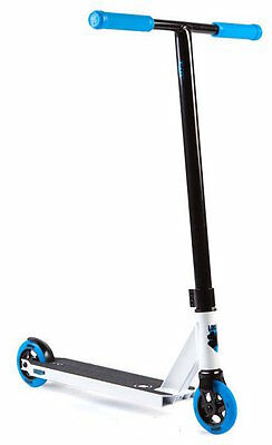 Lucky Complete Scooter - Crew 2017 - White Cyan - Bonus Scooter Stand