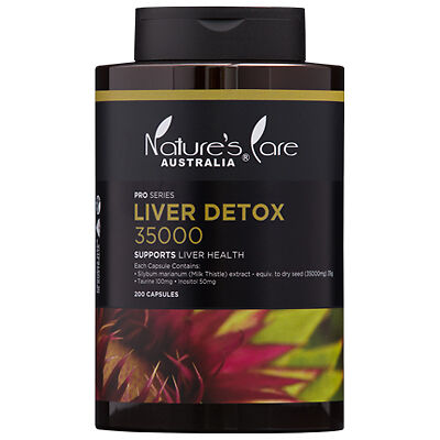 Nature's Care Pro Series Liver Detox 35000mg Cap X 200