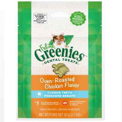 Greenies Feline Chicken Cat Treats 85gm