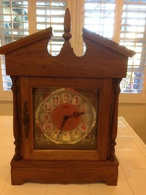 "Extra Large German Franz Hermle Mantel Clock. ""ann"" Model With Westminster Chime"