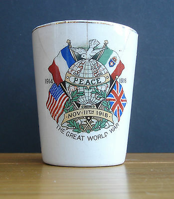 PEACE Mug The Great World War WWI Commemorative Mug