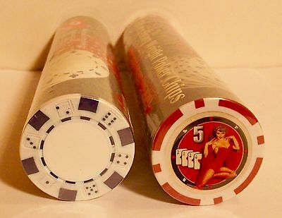 100 Sterling Games Heavy Weight Casino Poker Chips