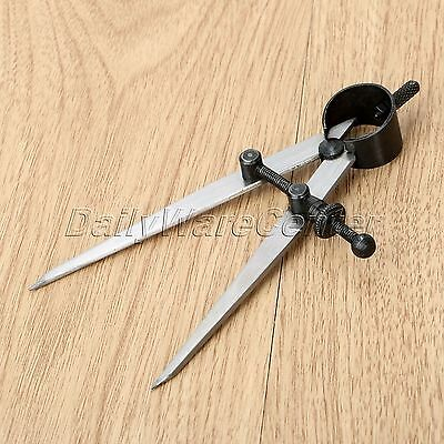 Leather Craft Edge Creaser Adjustable Rotating Wing Divider Home Hand Tool Set