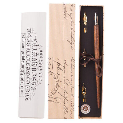 NEW Rubinato Wooden Calligraphy Set