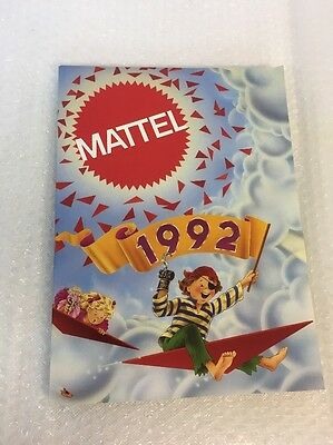 Mattel 1992  Trade Catalogue 230 Pages!