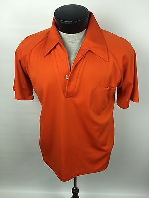 Barrister California Mens Vintage Shirt Polyester 70's Retro Large