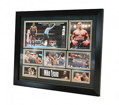 Mike Tyson Signed photo Framed Memorabilia Boxing Limited Edition