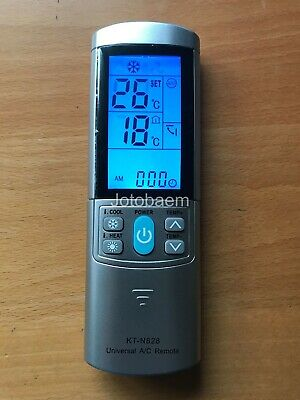 Full Function Universal Air Conditioner Remote Control for ALL DeLonghi models