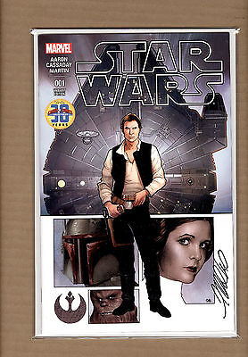 Star Wars #1 Exclusive Frank Cho Variant Signed By Frank Cho Nm/nm+