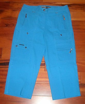 NWT Women's Jamie Sadock Golf Capri Pants  Size 4  Color Rip Tide