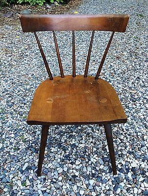 PAUL McCOBB PLANNER GROUP Desk Dining Chair Mid Century Modern MCM Vintage VG++