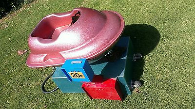 Vintage circa 1970's Coin Operated Amusement Kids Kiddie Ride Moon buggy