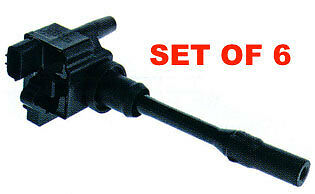GENUINE OEM Ignition Coil IGC-315 For FTO DE3A 2.0L V6 SET OF 6