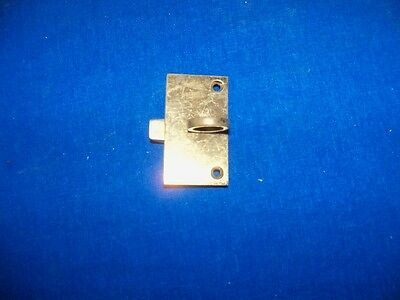Antique Small Brass Door Latch Hinge Opener Lock Hardware Part