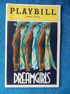 Dreamgirls - Imperial Theatre Playbill w/Ticket - July 20th, 1983 - Battle