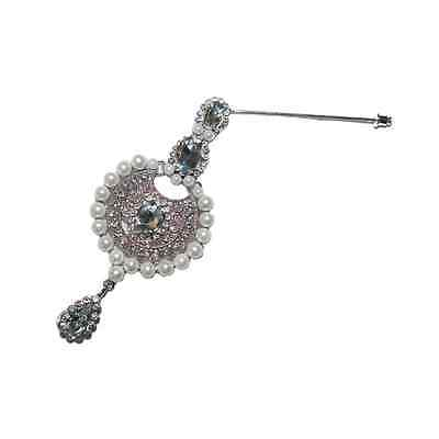 Exclusive New Rhinestone Silver gold scarf pins brooch hijab accessory