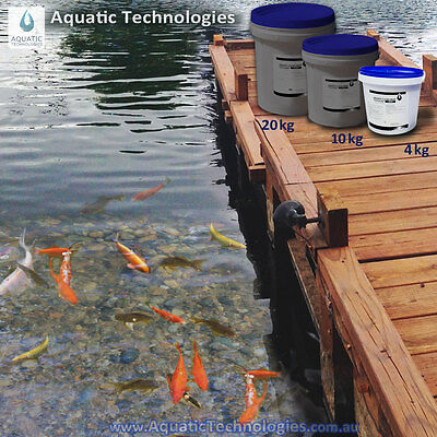 Aquatic Clear Drop for Dams 4kg - The quick & effective Dam clarifier
