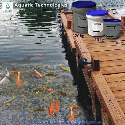 Aquatic Clear Drop for Dams 10kg - The quick & effective Dam clarifier