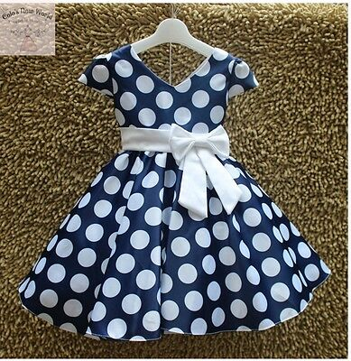 Toddler Kids Girl Princess Dress Special Occasion Wedding Birthday Party Dress