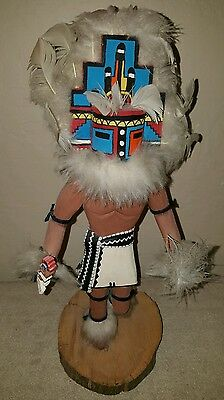 "Vintage Hemis Hopi ""The Chief Kachina"" by Paja Signed 17"""