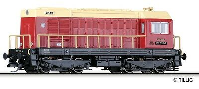 TILLIG 02624 TT Gauge diesel locomotive BR 107 018 the Railsystems RP, Epoch VI