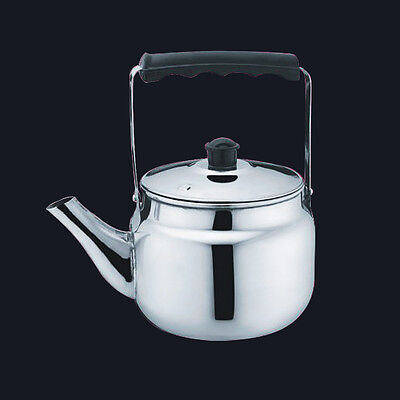 Stainless Steel Kettle Boiling Hot Water Pot Tea Coffee Maker Silver New 0.75-4L