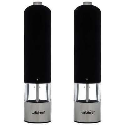 Wiltshire Electric Salt & Pepper Mill .... New